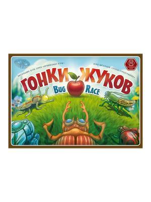 Настольная игра Гонки жуков Правильные игры. Цвет: зеленый
