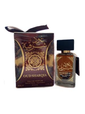 Arabic Perfumes Oud Sharqia edp 80 ml. Цвет: темно-красный, золотистый