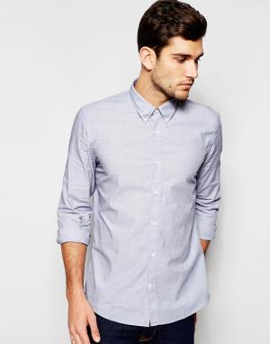 Junk De Luxe Рубашка Fil-a-fil. Цвет: черный