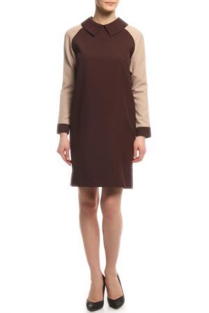 Платье Rocawear. Цвет: бежевый