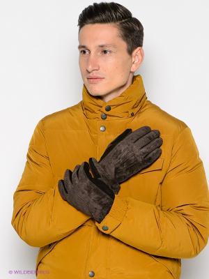 Перчатки Modo. Цвет: темно-коричневый