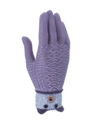 Перчатки детские Cascatto. Цвет: сиреневый
