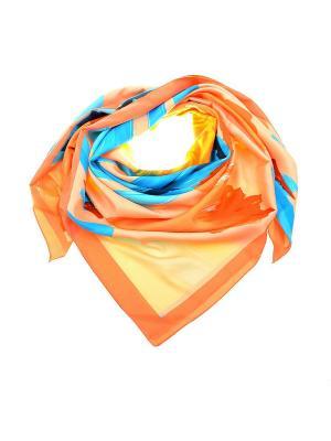 Платок Dispacci. Цвет: персиковый