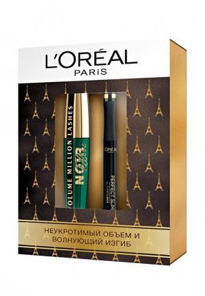 Набор для макияжа глаз LOreal Paris L'Oreal. Цвет: черный