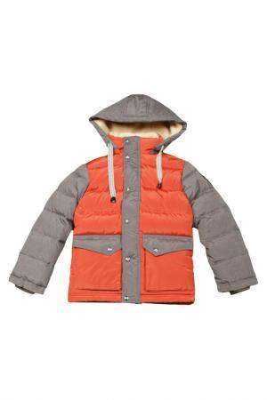 Куртка Arctic Goose. Цвет: terracot, gray melange