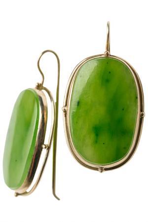 Кольцо ZAXA HADID. Цвет: зеленый