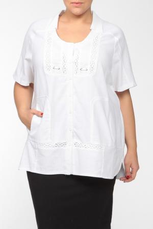 Рубашка Terra. Цвет: белый
