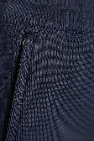 Трикотажные брюки с лампасами Victoria Beckham. Цвет: черный