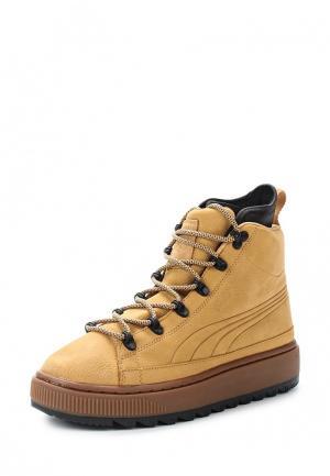 Ботинки PUMA. Цвет: бежевый