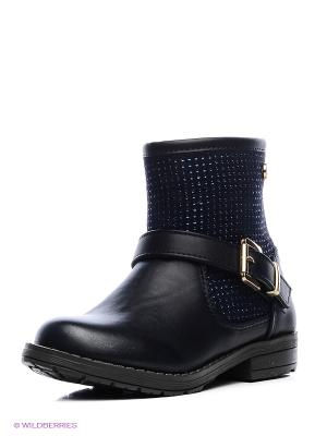Ботинки XTI. Цвет: темно-синий