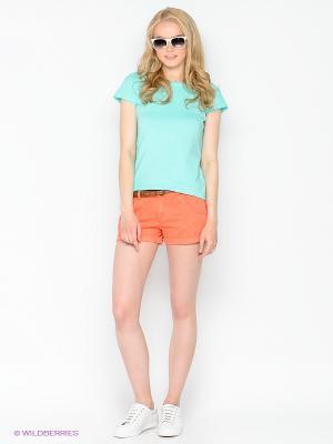 Шорты Cars Jeans. Цвет: коралловый