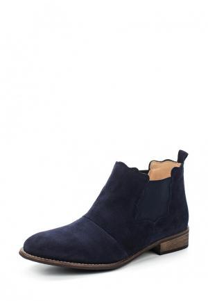 Ботинки KMB. Цвет: синий