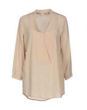 Блузка PAOLO CASALINI. Цвет: бежевый