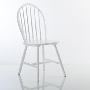 2 стула с решеткой из массива бука, Windsor La Redoute Interieurs. Цвет: белый,бирюзовый,серо-бежевый,черный