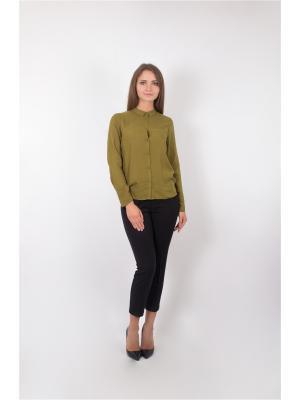 Блузка Minimum. Цвет: зеленый