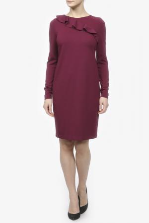 Платье джерси Pietro Brunelli. Цвет: фиолетовый