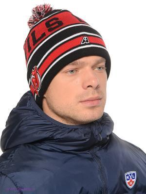 Шапка Atributika & Club. Цвет: черный, красный