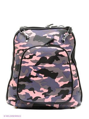Рюкзак Ors Oro. Цвет: серый, розовый