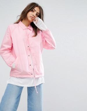 Carhartt Спортивная куртка WIP. Цвет: розовый