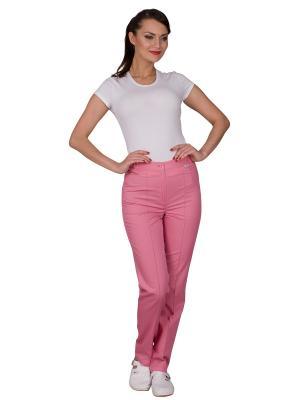Брюки MediS. Цвет: розовый