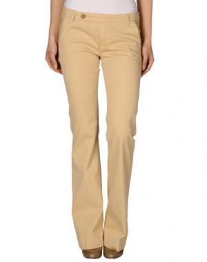 Повседневные брюки TRUE NYC.. Цвет: бежевый