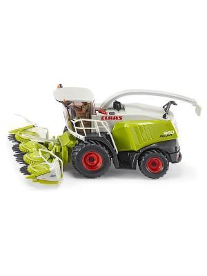 Комбайн для сборки кукурузы (1:32) SIKU. Цвет: зеленый, белый, салатовый