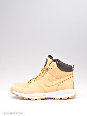 Ботинки MANOA LEATHER Nike. Цвет: светло-коричневый