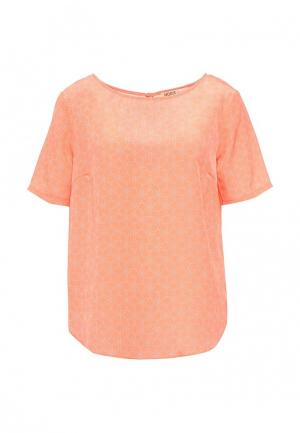 Блуза Modis. Цвет: коралловый