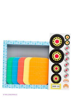 Настольная игра Магнитная мозаика. Техника Десятое королевство. Цвет: голубой, красный, белый, зеленый