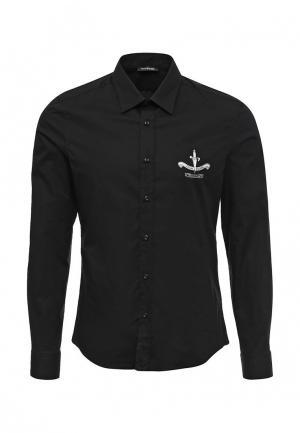 Рубашка Cesare Paciotti. Цвет: черный