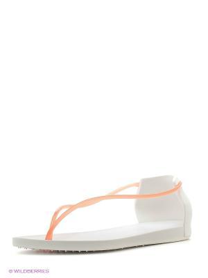 Сандалии Ipanema. Цвет: белый, персиковый