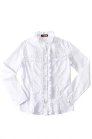 Блузка I love to dream. Цвет: белый