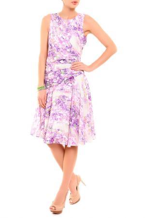 Платье BGN. Цвет: purple