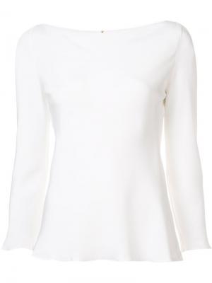 Блузка Part Peter Cohen. Цвет: белый