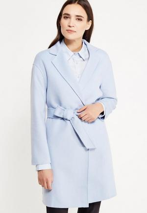 Пальто Tommy Hilfiger. Цвет: голубой