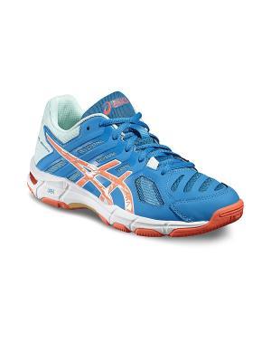 Спортивная обувь GEL-BEYOND 5 ASICS. Цвет: синий, голубой, коралловый