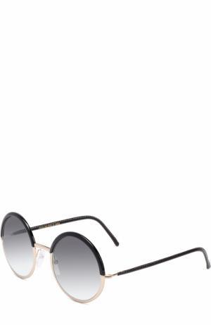 Солнцезащитные очки Cutler and Gross. Цвет: черный