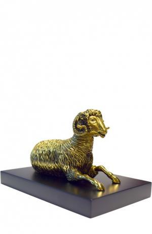 Скульптура Овен Tsar. Цвет: золотой