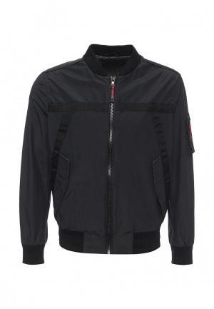 Куртка Sisley. Цвет: черный