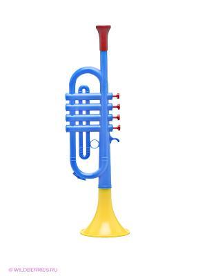 Музыкальная игрушка Труба Domenech. Цвет: синий, желтый