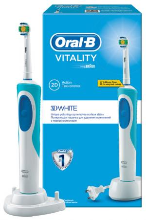 Электрическая зубная щетка ORAL B. Цвет: none