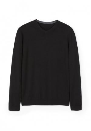 Пуловер Mango Man. Цвет: черный