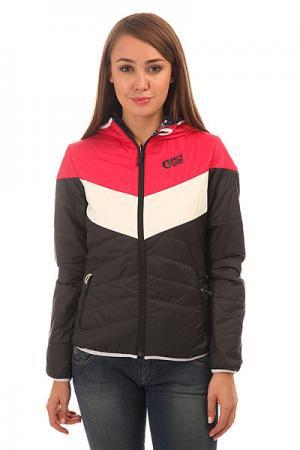 Куртка женская  Dolly Black Pink White Picture Organic. Цвет: черный,розовый,белый,мультиколор