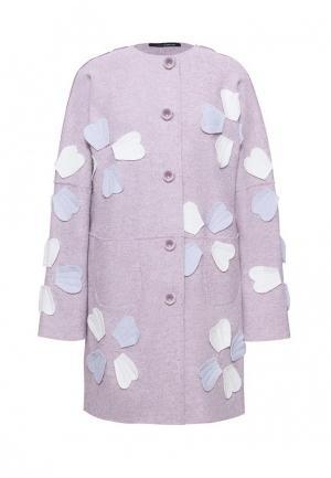 Пальто Lucky Move. Цвет: розовый