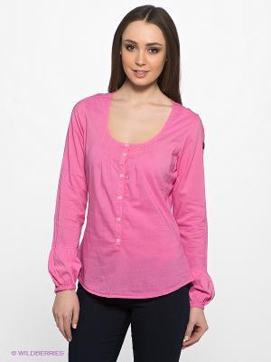 Блузка NAPAPIJRI. Цвет: розовый