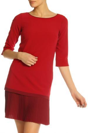 Платье SFIZIO. Цвет: малиновый, бордовый