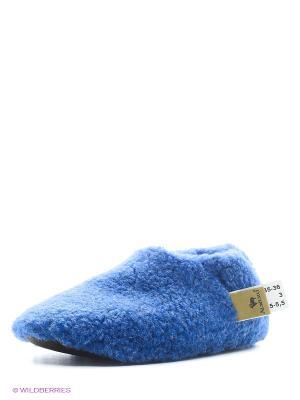 Тапочки ALWERO. Цвет: синий