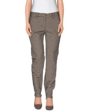 Повседневные брюки MASSIMO ALBA. Цвет: темно-коричневый