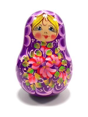Неваляшка музыкальная -  Девочка фиолетовая Taowa. Цвет: фиолетовый