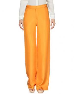 Повседневные брюки NORMALUISA. Цвет: оранжевый